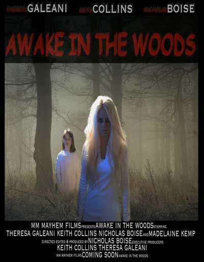 Horror Movie Trailer & Poster – Awake in the Woods