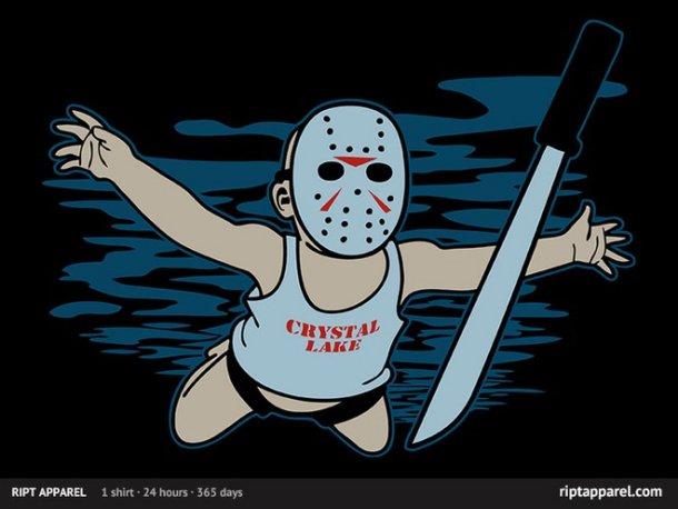 Nirvana/Friday the 13th Mash-Up T-Shirt