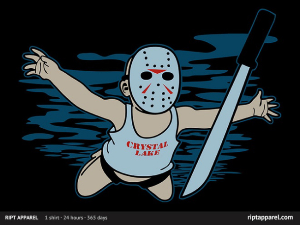 Nirvana/Friday the 13th Mash-Up T-Shirt
